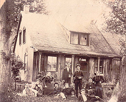 The Boyce Homestead, c.1890s. (Photo - Rawdon Historical Society)